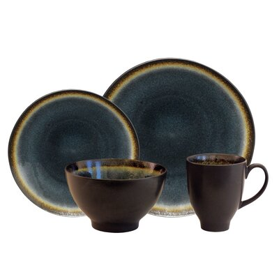 Galaxy Coupe 16 Piece Dinnerware Set gacdm16d