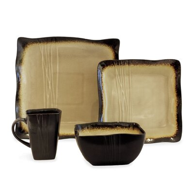 Galaxy 16 Piece Dinnerware Set galax16s