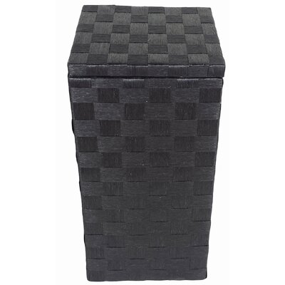 Liberty Apartment Laundry Hamper Color: Black