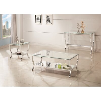 Pawtucket 3 Piece Coffee Table Set
