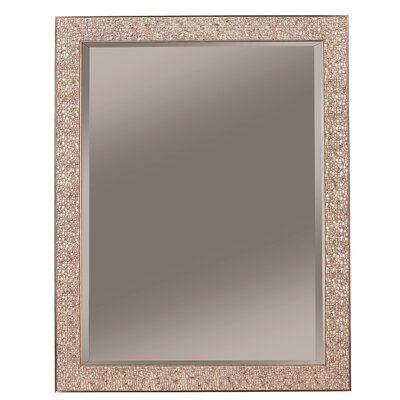 "Wall Mirror Finish: Black, Size: 67.5"" H X 33.5"" W X 2"" D"