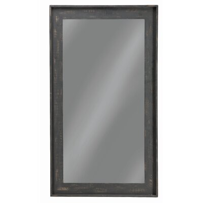 "Wall Mirror Finish: Brown, Size: 85.5"" H X 61.5"" W X 3.5"" D"