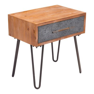 Rosanne Metal End Table
