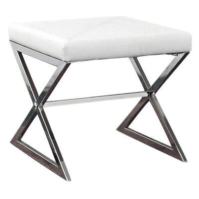 Lucio Ottoman Upholstery: White