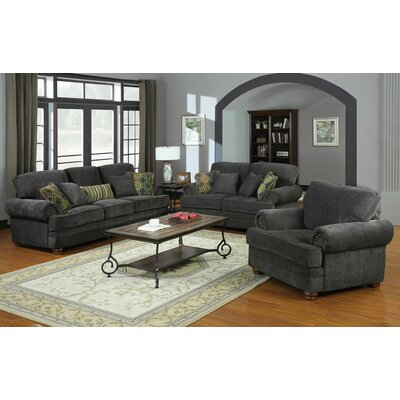 Wildon Home 504401 Crawford Chenille Living Room Collection