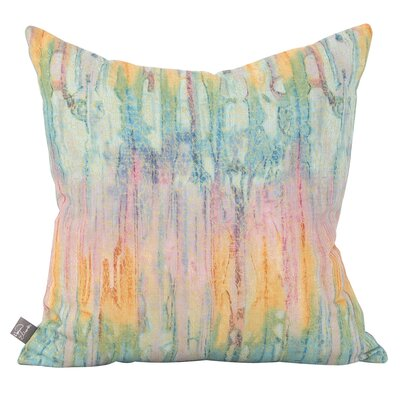 Hoelscher Many Petals Zest Throw Pillow