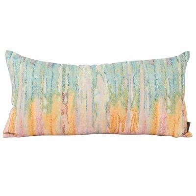 Hoelscher Rhythm Eggplant Lumbar pillow