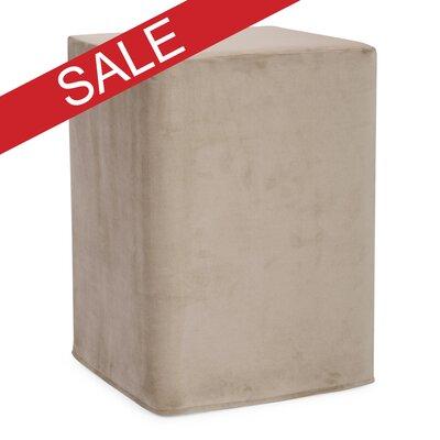 Hoelscher Tall Block Bella Ottoman Upholstery: Sand