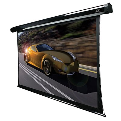 CineTension2 White 200 Diagonal Electric Projection Screen Viewing Area: 92 diagonal