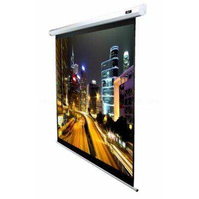 VMAX2 Series White Electric Projection Screen Viewing Area: 135 diagonal, Finish: White Aluminum Case