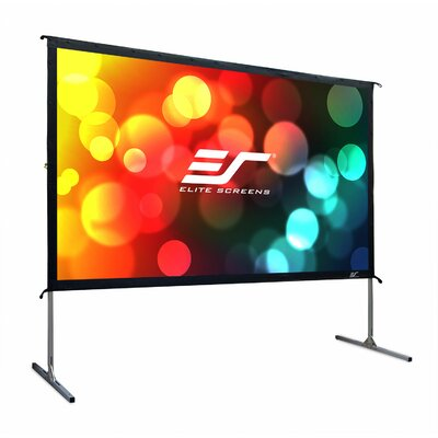 YardMaster2 White 135 diagonal Portable Projection Screen