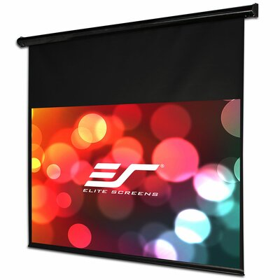Starling Ceiling / Wall Mount White Electric Projection Screen Viewing Area: 135 diagonal