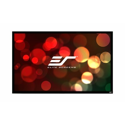 ezFrame Series White Fixed Frame Projection Screen Viewing Area: 200 diagonal