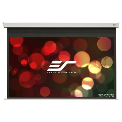 Evanesce White Electric Projection Screen Viewing Area: 49 H x 87.2 W