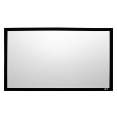 Sable Frame 2 White Fixed Frame Projection Screen Viewing Area: 165 Diagonal