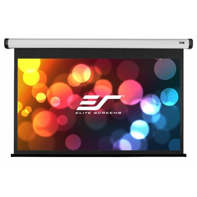 Home2 Series White 90 diagonal Electric Projection Screen