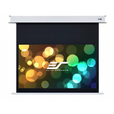 Evanesce White Electric Projection Screen Viewing Area: 110 Diagonal