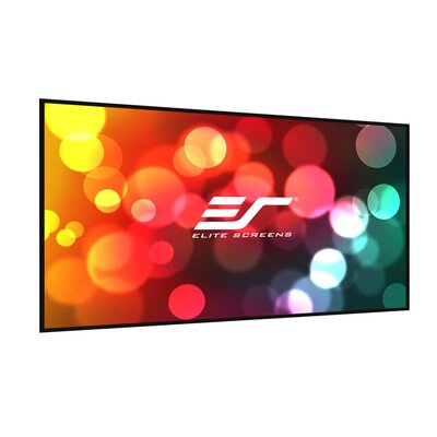 Insta-DE Series, 102-inch 16:9, Wall Covering Dry Erase Marker WhiteBoard Projection Screen