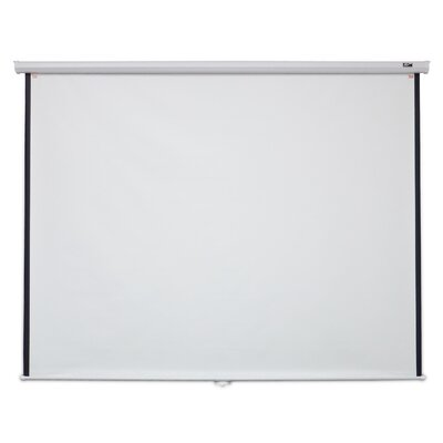 White 100 diagonal Manual Projection Screen