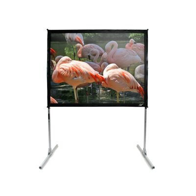 White Portable Projection Screen Viewing Area: 250 diagonal