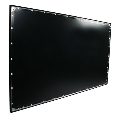 ezFrame Grey Fixed Frame Projection Screen Viewing Area: 84 Diagonal