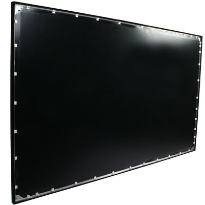 Grey Fixed Frame Projection Screen Viewing Area: 180  Diagonal