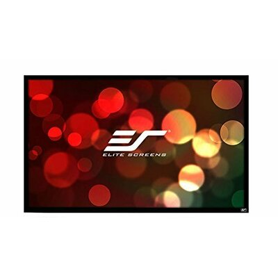 ezFrame2 White Fixed Frame Projection Screen Viewing Area: 114 Diagonal