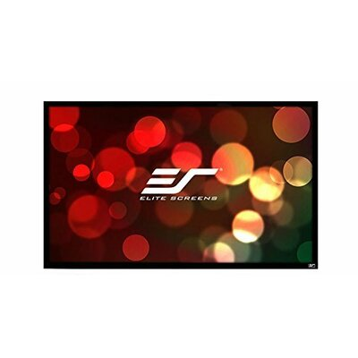 ezFrame2 Grey Fixed Frame Projection Screen Viewing Area: 120 Diagonal