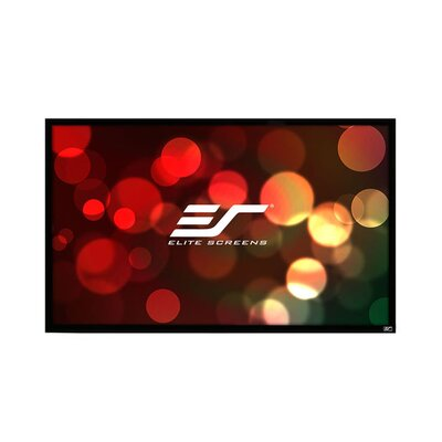 ezFrame2 White Fixed Frame Projection Screen Viewing Area: 100 Diagonal