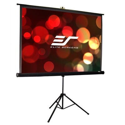 Tripod Pro Series White Portable Projection Screen Viewing Area: 113 diagonal