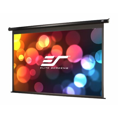 VMAX2 Series White Electric Projection Screen Viewing Area: 136 diagonal