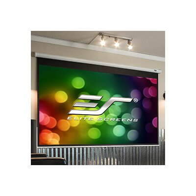 White 135 diagonal Manual Projection Screen Viewing Area: 135 Diagonal, 4:3