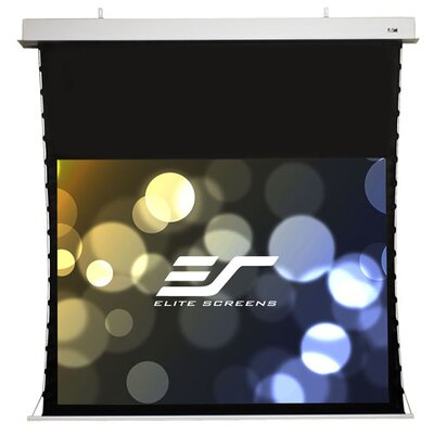 Evanesce Tab-Tension Series CineWhite 60 H x 80 W Electric Projection Screen Size: 84(16:9)