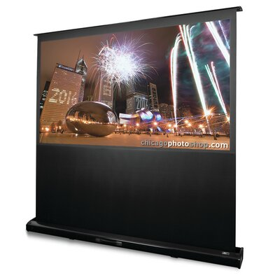 Kestrel White Electric Projection Screen Viewing Area: 92 diagonal