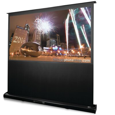 Kestrel White Electric Projection Screen Viewing Area: 85 diagonal