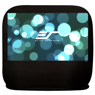 Pop-up Cinema White 84 diagonal Portable Projection Screen Viewing Area: 84