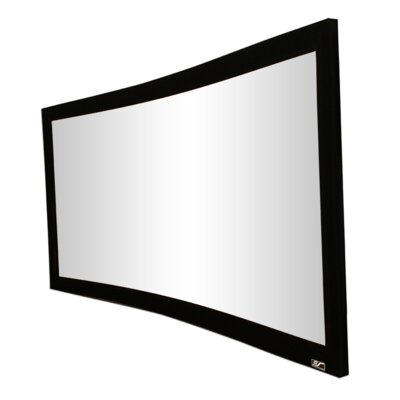 Lunette Series White Fixed Frame Projection Screen Viewing Area: 96 diagonal