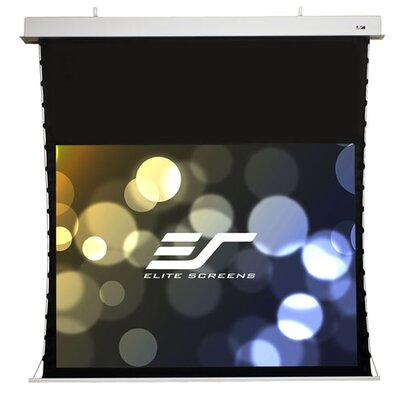 Evanesce White Electric Projection Screen Viewing Area: 100 Diagonal 4:3