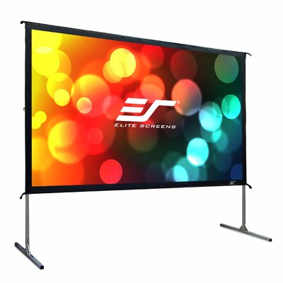 YardMaster2 Grey Portable Projection Screen Viewing Area: 90 Diagonal, 16:9