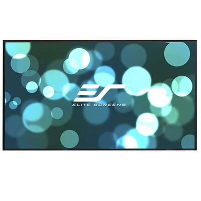 Aeon CLR Series White Fixed Frame Projection Screen Viewing Area: 90,16:9