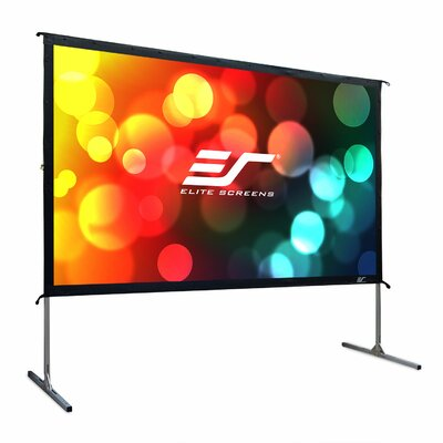 YardMaster Grey Portable Projection Screen Viewing Area: 123 Diagonal, 16:9