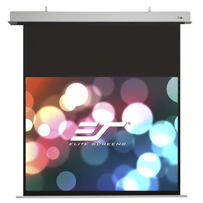 Evanesce White Electric Projection Screen Viewing Area: 52.0 H x 92.4 W