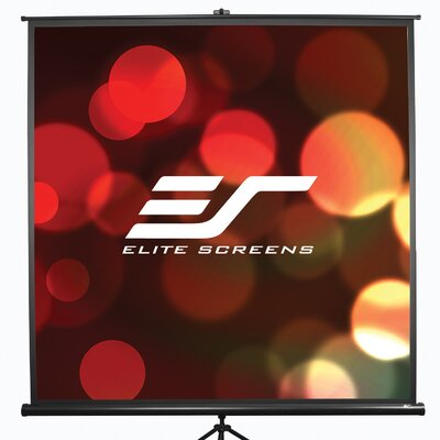 Tripod Series White 50 diagonal Portable Projection Screen