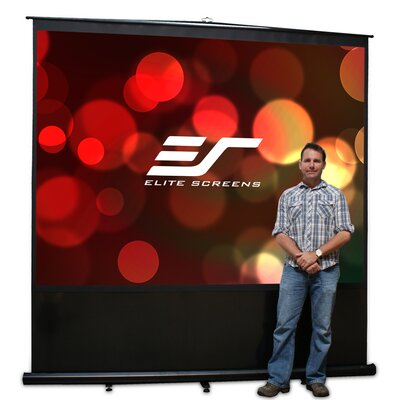 Reflexion Series Maxwhite 110 diagonal Portable Projection Screen