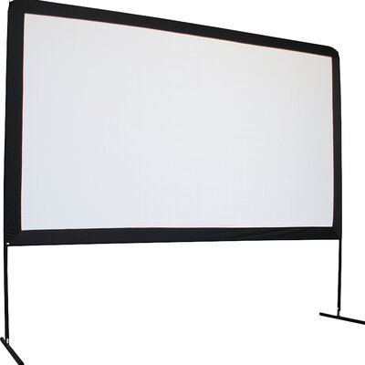 Yard Master Series Dyna White 120 Diagonal Portable Projection Screen