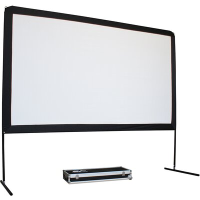 Yard Master Series White 150 diagonal Portable Projection Screen