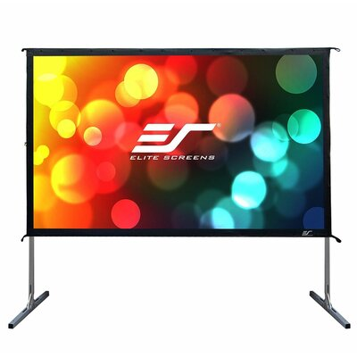 YardMaster2 White Portable Projection Screen Viewing Area: 110 Diagonal