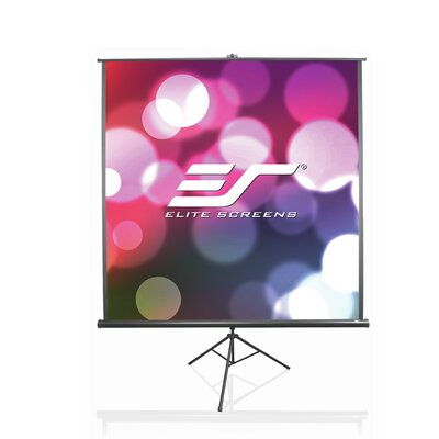 B Series White 136 Portable Projection Screen