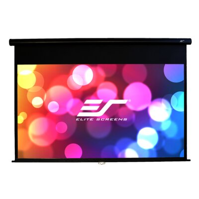 Yard Master Series White Manual Projection Screen Viewing Area: 100(16:9)
