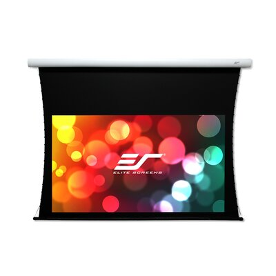 CineTension B Series White Electric Projection Screen Viewing Area: 96